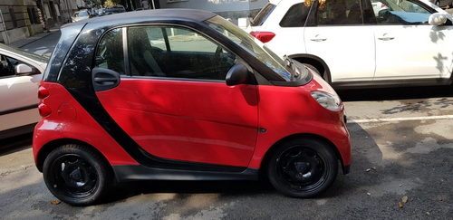 SMART FORTWO COUPE 45KW MHD, 2013 god